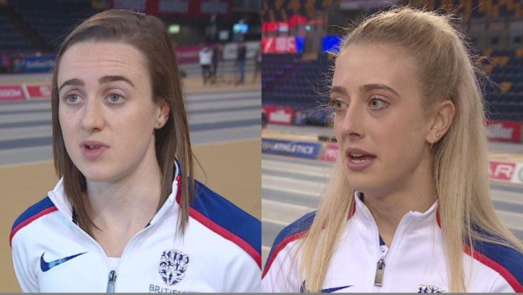 Partners: Muir and Reekie are competing in Glasgow.