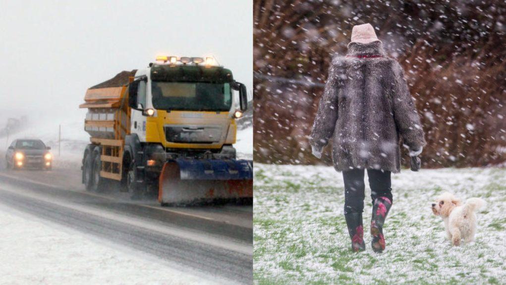 Weather warnings across Scotland.