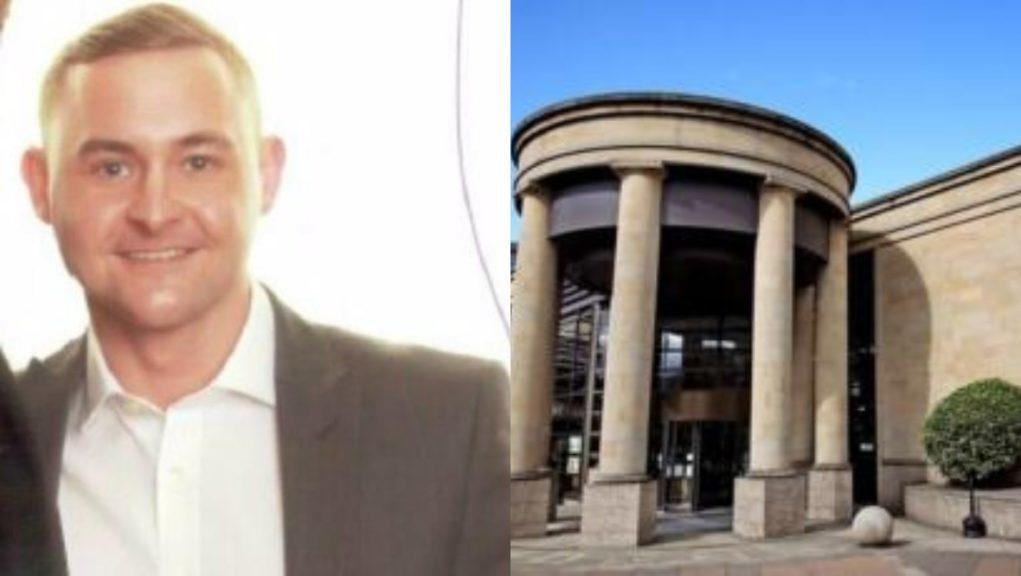 Derek McClinton originally pled not guilty to killing Craig Kearney, pictured, at the High Court in Glasgow.