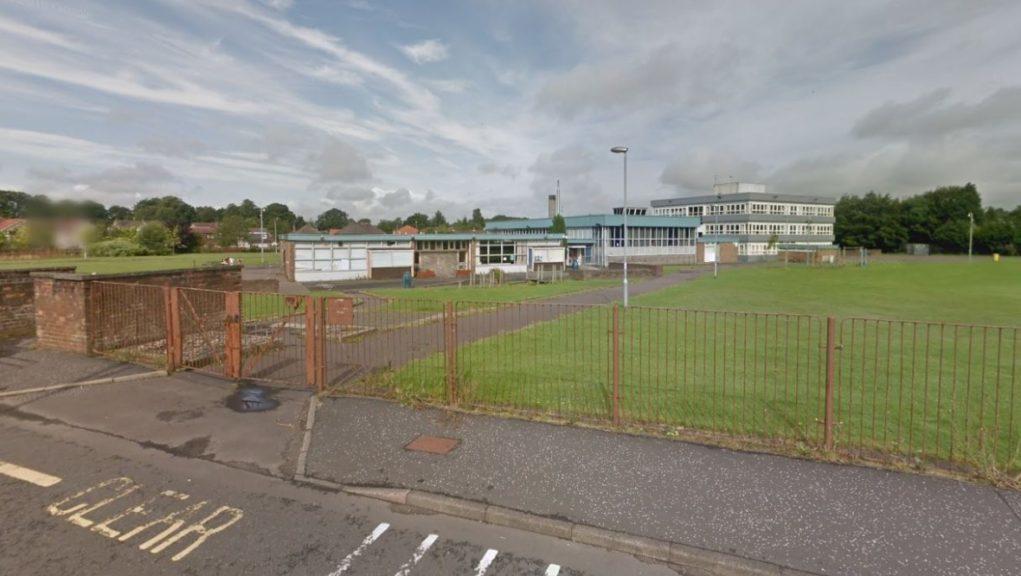 Balmuildy Primary: The school has been evacuated as a precaution.