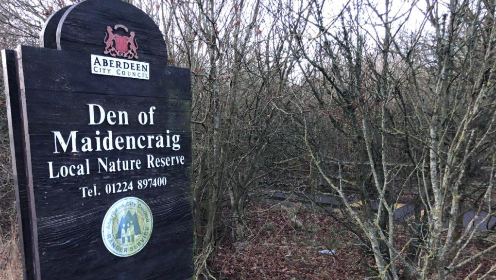 Investigation: Two snakes were found dead at a nature reserve in Aberdeen.
