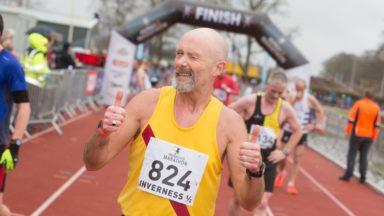 Graham Laing, Inverness Half Marathon.