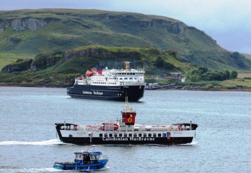 CalMac: Ferry returns after successful trials.