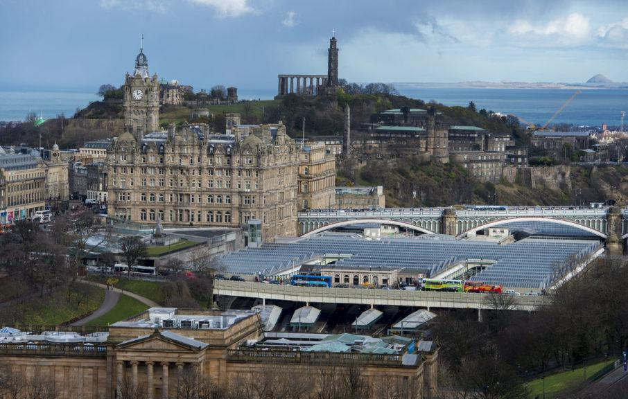 Police: The incident happened at Edinburgh Waverley.