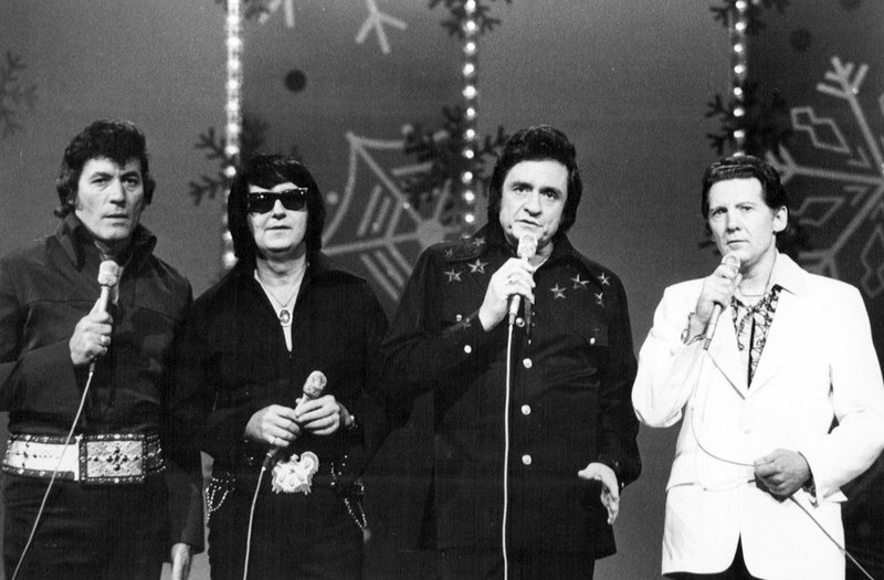 Cash: Singer with Roy Orbison and Jerry Lee Lewis.