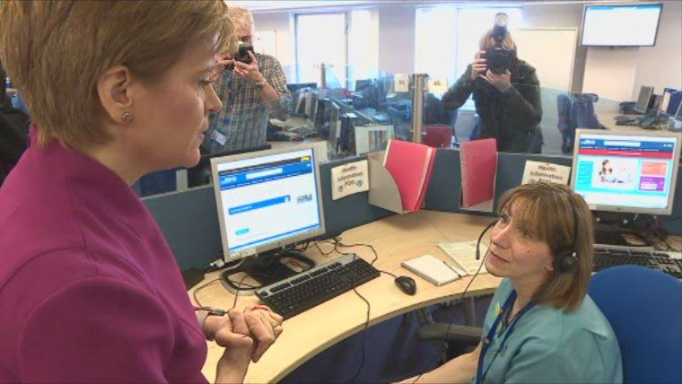 Sturgeon: 'Sharp rise' in cases expected today.