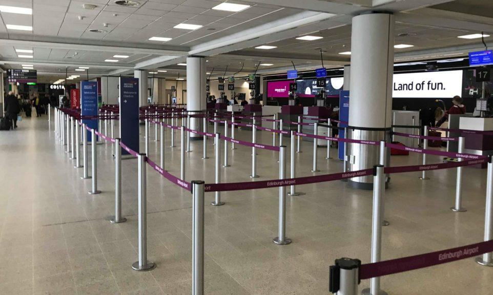 Edinburgh Airport: Systems will be powered down while some parts of the airport will close.