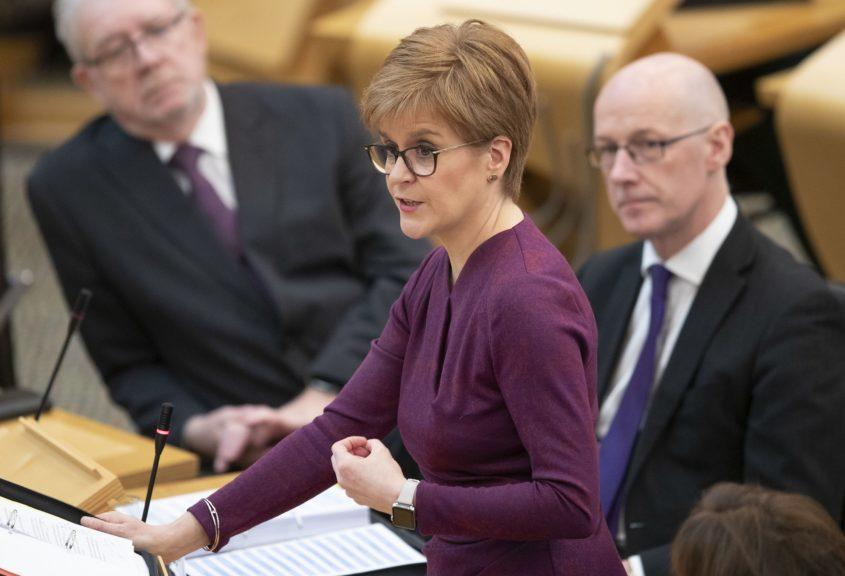 Coronavirus: More confidence in Scottish Government than UK Government, a survey suggests.