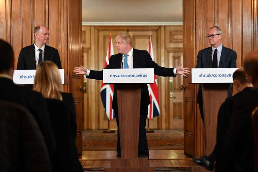 Boris Johnson: Public needs to heed social distancing advice.
