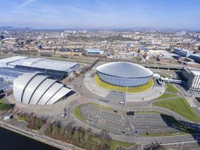 Scottish Event Campus (SEC), Glasgow.