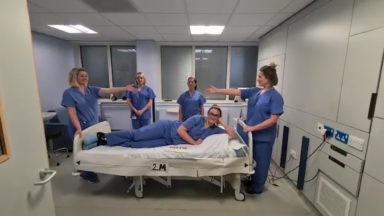 Midwives explain social distancing