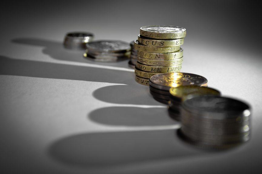 Money: The UK economy is forecast to decline.