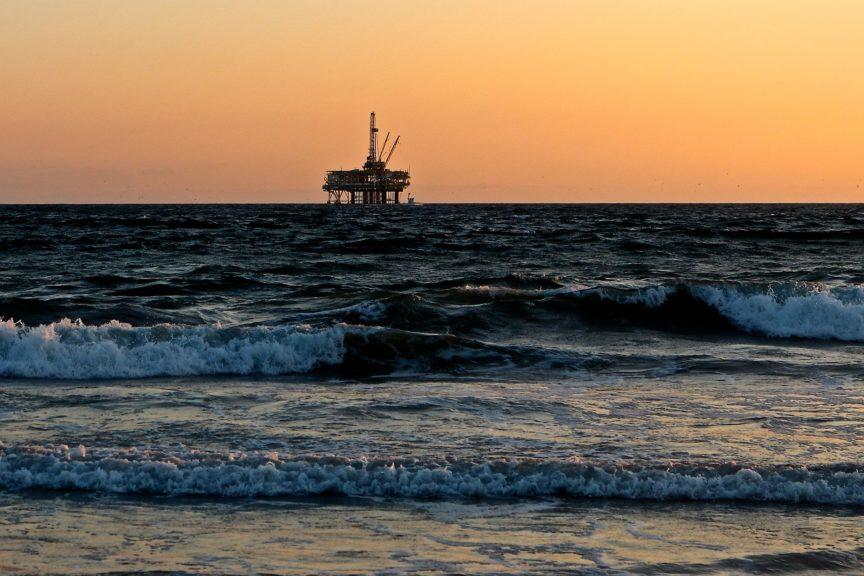 Stock oil rig.
