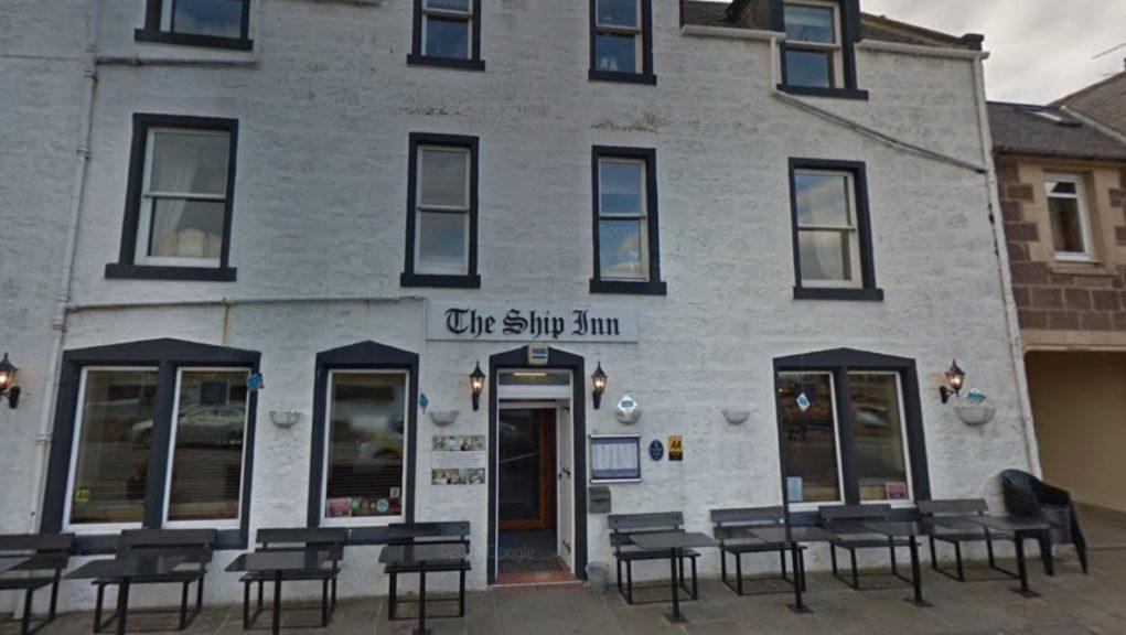 Stonehaven: The Ship Inn was raided at the weekend.