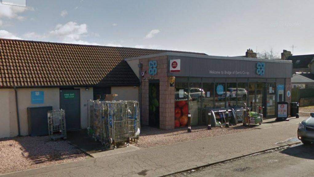 Row: A pensioner was headbutted after the altercation.