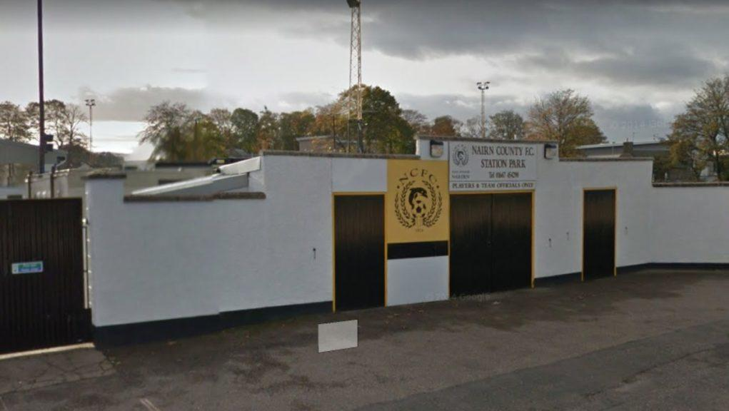 Station Park: Home of Nairn County.