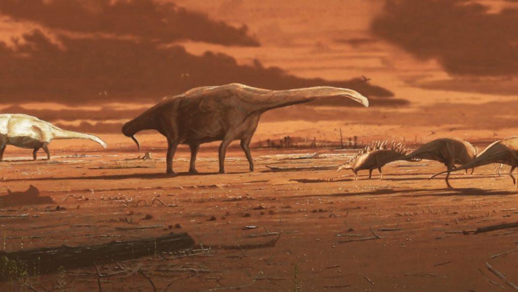 Steosaurs: Roamed Skye 170 million years ago.