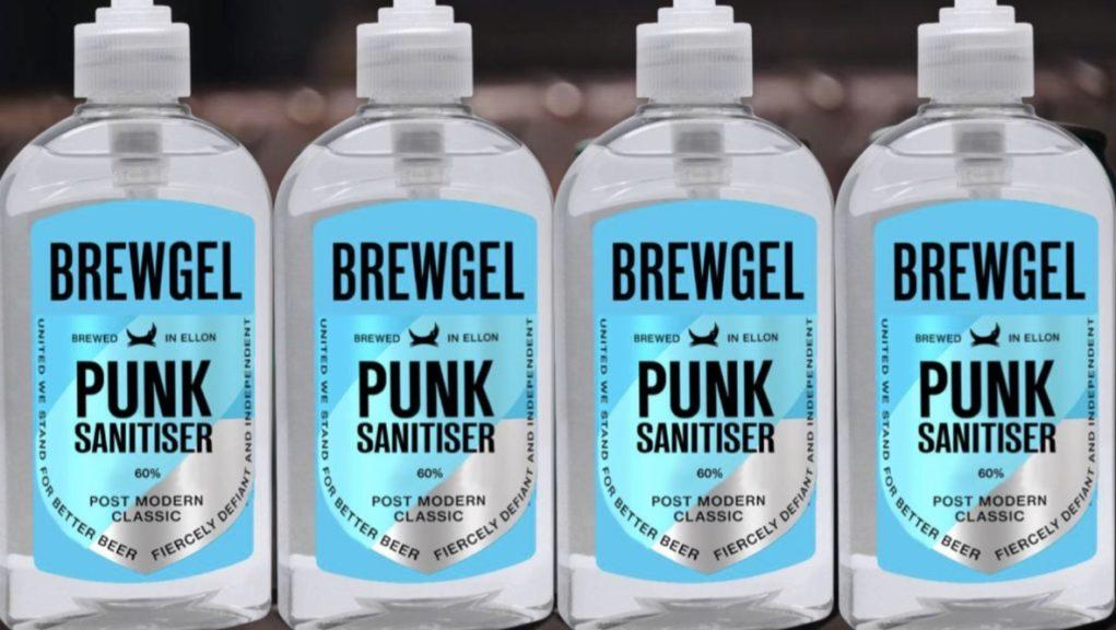 Brewdog: The brewers are now making hand cleaning gel.