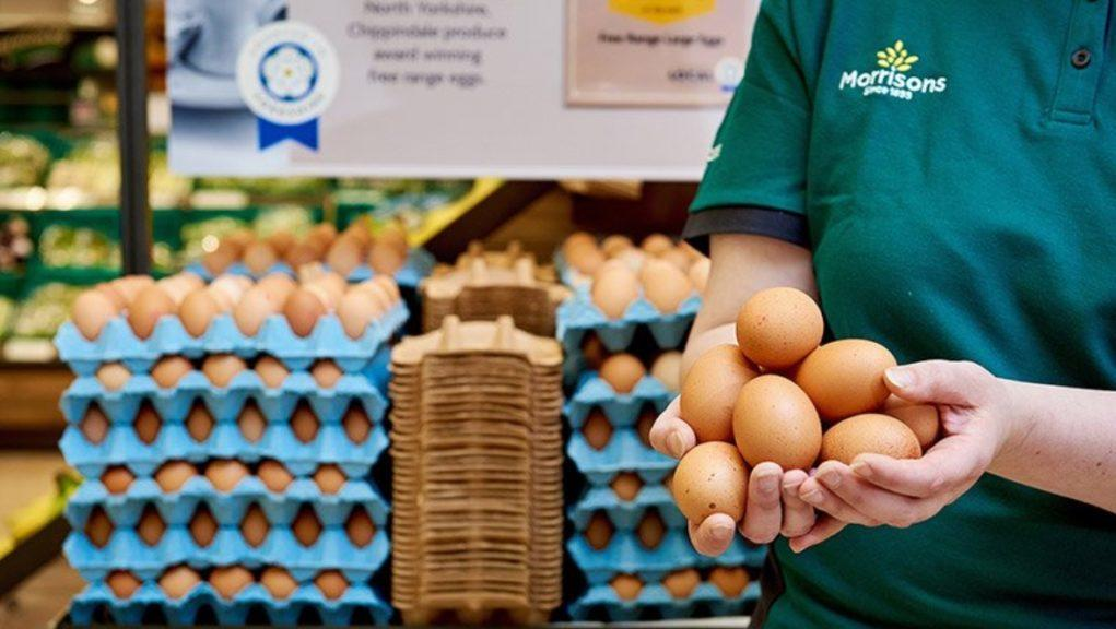 Morrisons: The supermarket chain will set aside £10m worth of groceries.