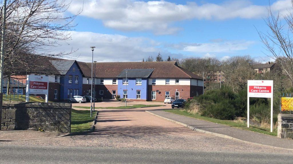 Care home: Owners praised the 'courage and commitment' of staff during the crisis.