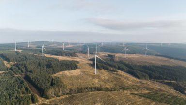 Wind farm South Kyle Vattenfall.
