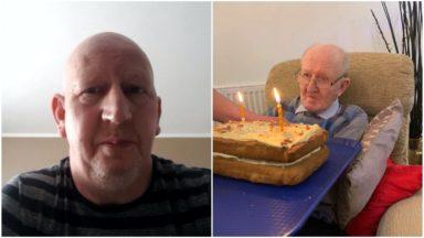 Loss: Graham Mclean was being cared for at Wyndwell Care Home in Peterhead.
