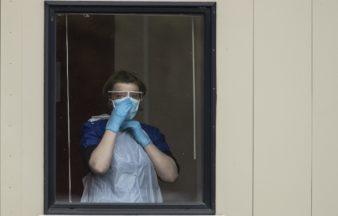 Nurse PPE personal protective equipment coronavirus generic.