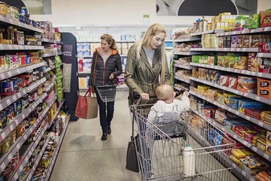 Lockdown: 'Legitimate reasons' for shopping with children.