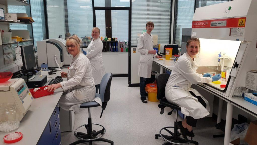 Virology: The team of 13 has quickly changed to a seven-day testing service.