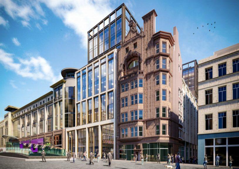 Glasgow: How Buchanan Galleries could look.