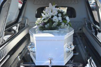 Funeral, coffin.