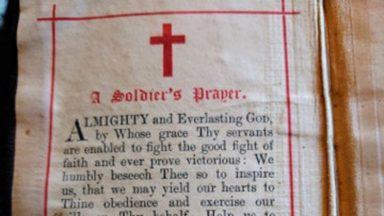 Military bible, Prestonpans.