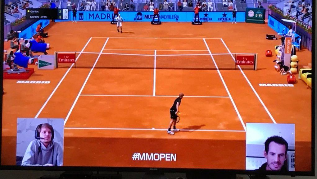 Murray defeated Goffin to win the Madrid Virtual Pro.