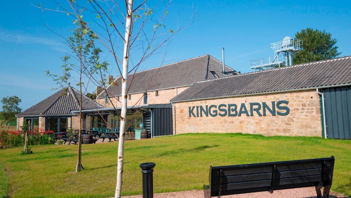 Kingsbarns Distillery.