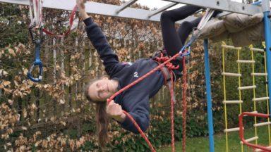 Anna Fraser, climber.