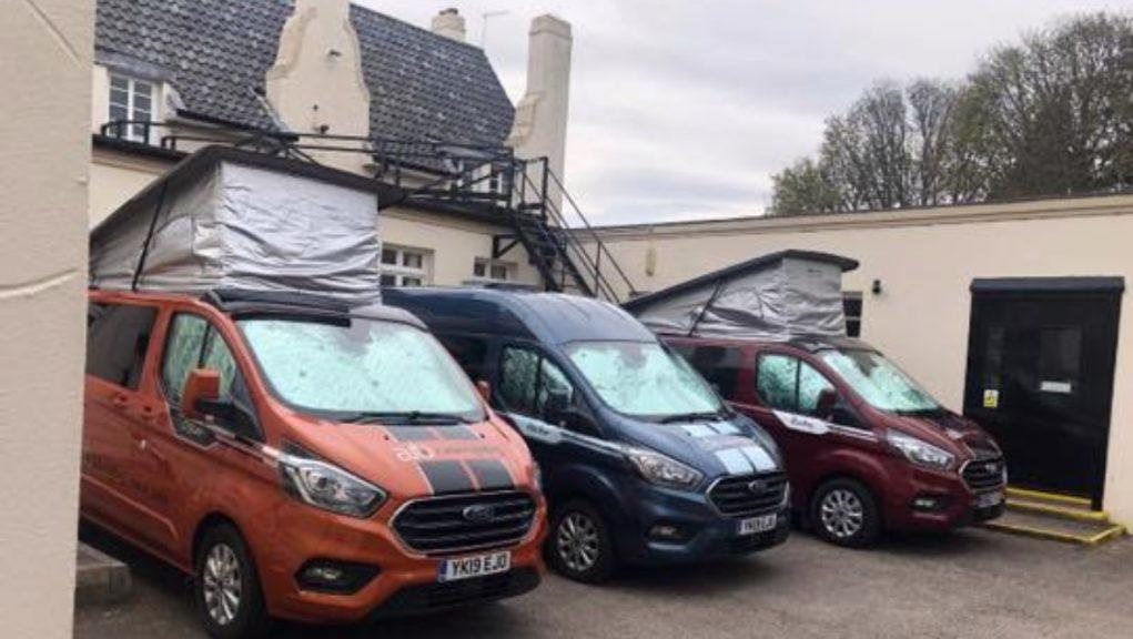 Isobel Fraser Care Home: The staff will live in the campervans for at least the next three weeks.