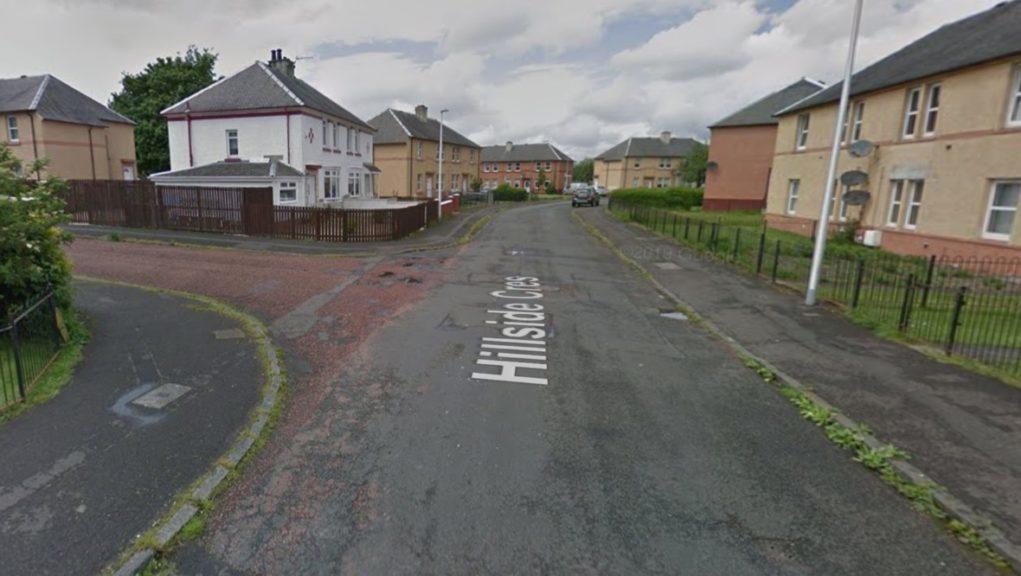 Investigation: Police have been carrying out door-to-door enquiries.