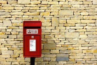Post box, Royal Mail.