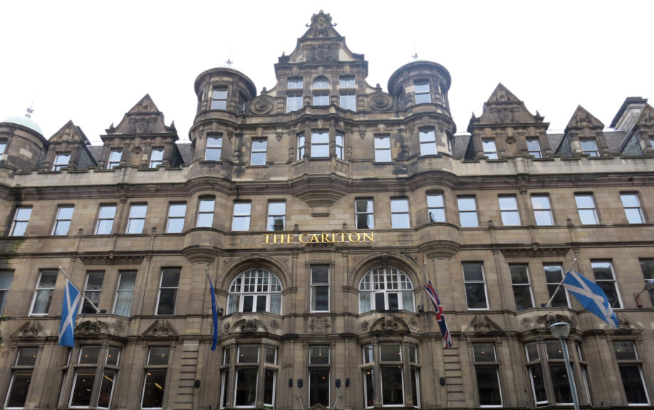 Conference: Hilton Carlton Hotel in Edinburgh.
