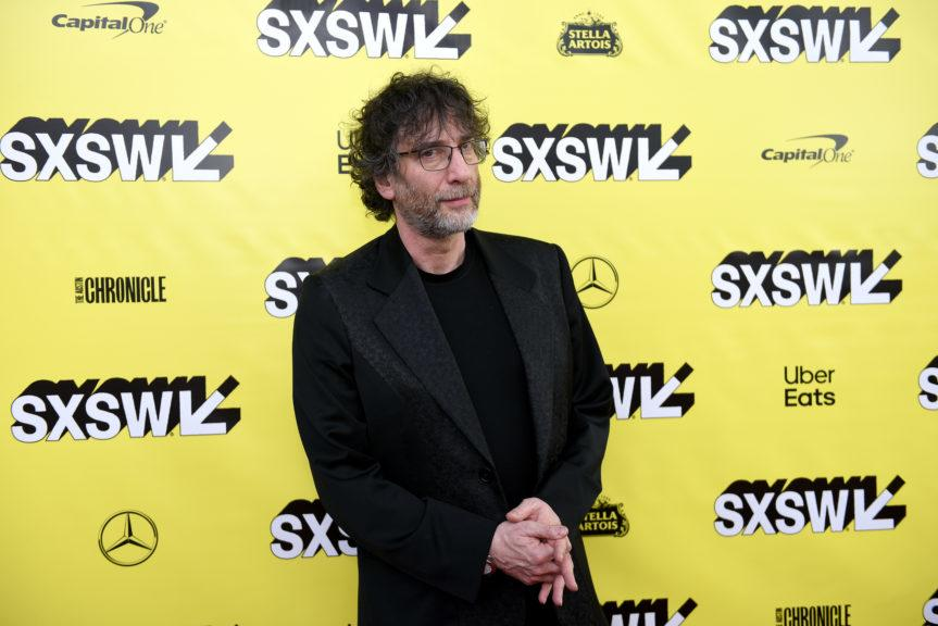 Apology: Neil Gaiman travelled from New Zealand to Skye.