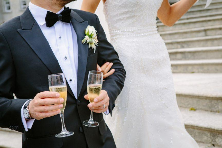 After lockdown: Weddings may be restricted to a limited amount of guests.
