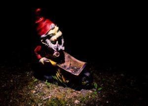 Garden gnome.