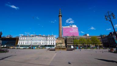 Met Tower, People Make Glasgow, George Square.