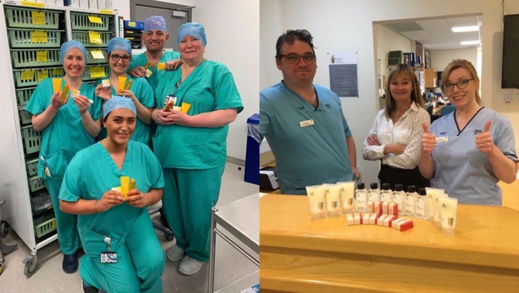 Coronavirus: Arran Sense of Scotland has donated products to frontline workers.