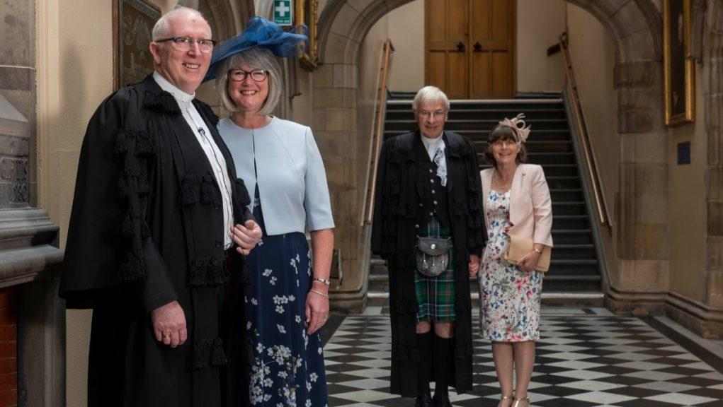 Edinburgh: The service to install Right Reverend Dr Martin Fair took place in the General Assembly Hall.