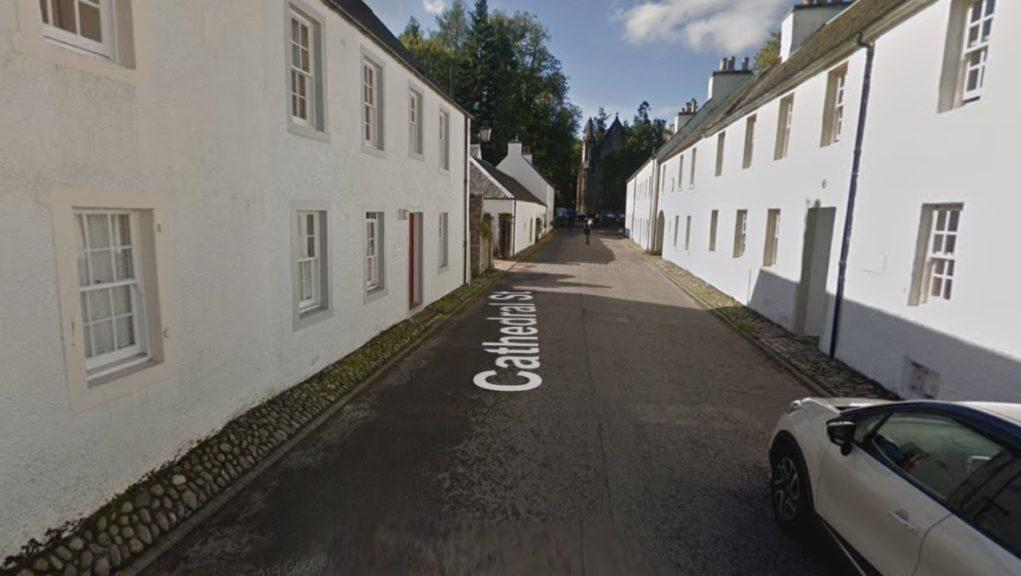 Dunkeld: The incident happened last Thursday afternoon.