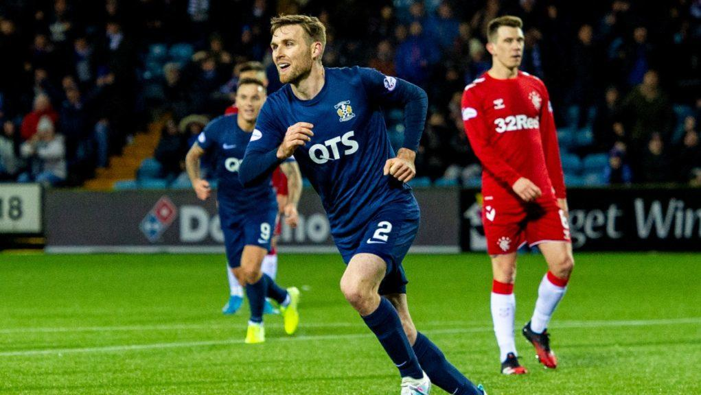 Exit: Stephen O'Donnell to leave Kilmarnock.
