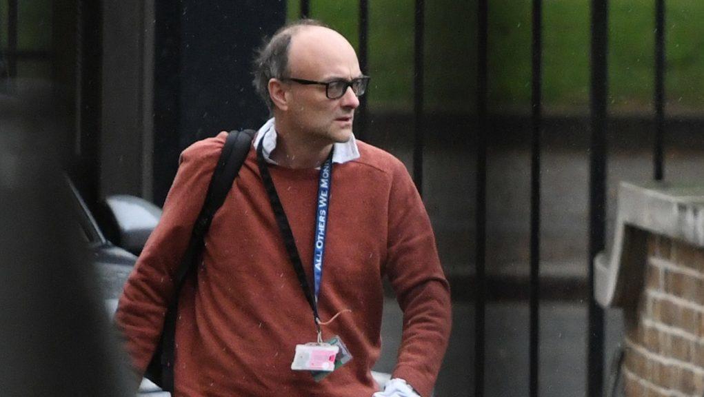 PM's adviser: Dominic Cummings.