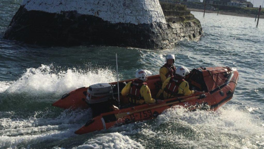 'Tombstoning': The boy was with a group of youngsters jumping into the sea on Saturday night.
