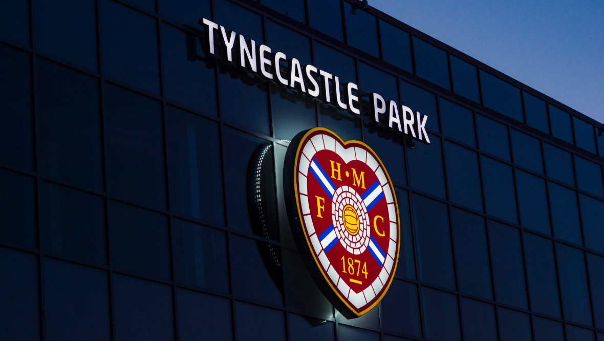 Hearts, Tynecastle Park.